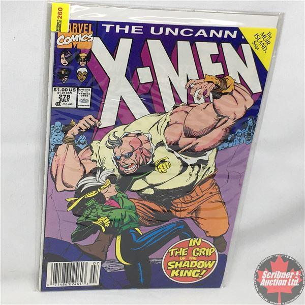 MARVEL: The Uncanny X-Men - Vol. 1, No. 278, July 1991 - Stan Lee Presents: The Battle of Muir Isle