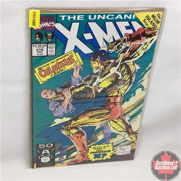 MARVEL: The Uncanny X-Men - Vol. 1, No. 279, August 1991 - Stan Lee Presents: Bad To The Bone