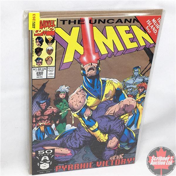 MARVEL: The Uncanny X-Men - Vol. 1, No. 280, September 1991 - Stan Lee Presents: X-Men and X-Factor