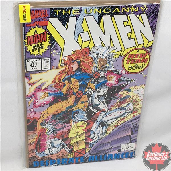 MARVEL: The Uncanny X-Men - Vol. 1, No. 281, October 1991 - Stan Lee Presents: Fresh Up Start