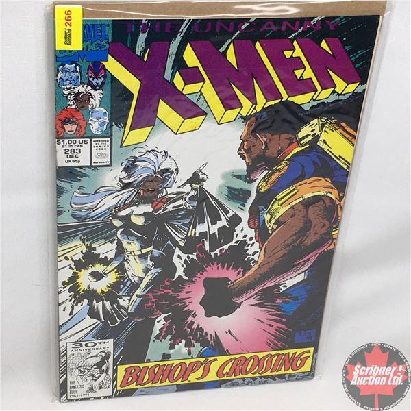 MARVEL: The Uncanny X-Men - Vol. 1, No. 283, December 1991 - Stan Lee Presents: Bishop's Crossing