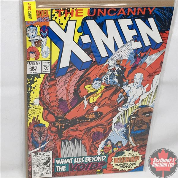 MARVEL: The Uncanny X-Men - Vol. 1, No. 284, January 1992 - Stan Lee Presents: Into The Void