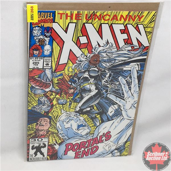MARVEL: The Uncanny X-Men - Vol. 1, No. 285, February 1992 -  Down The Rabbit Hole