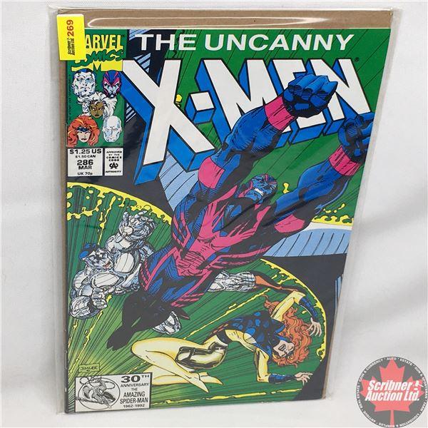 MARVEL: The Uncanny X-Men - Vol. 1, No. 286, March 1992 -  Close Call