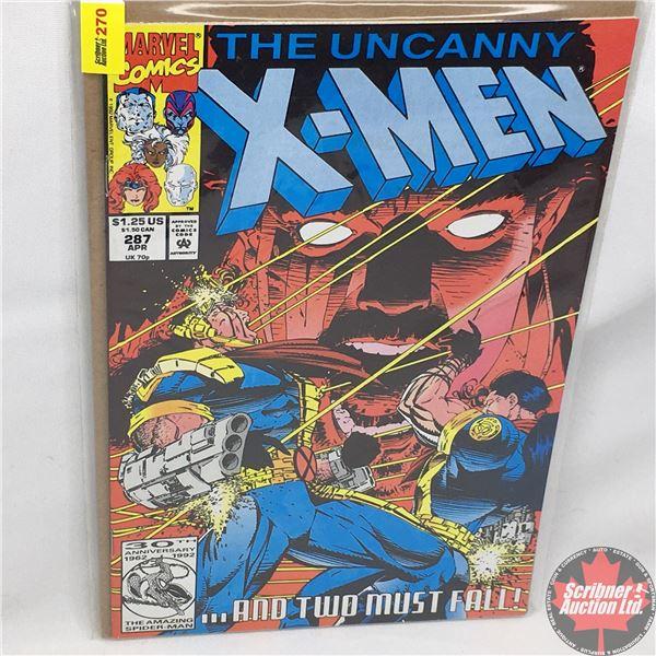 MARVEL: The Uncanny X-Men - Vol. 1, No. 287, April 1992 -  Bishop To King's Five!