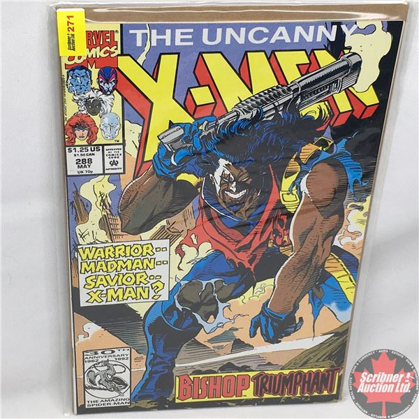 MARVEL: The Uncanny X-Men - Vol. 1, No. 288, May 1992 -  Stan Lee Presents: Time and Place