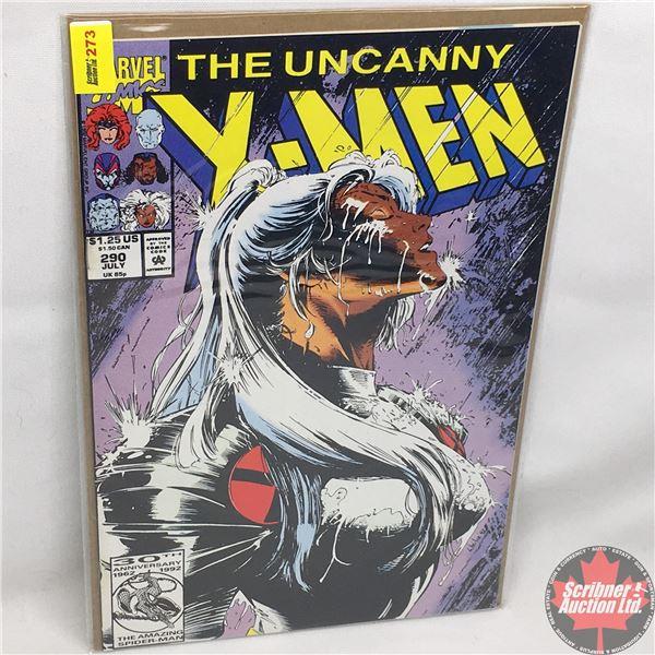 MARVEL: The Uncanny X-Men - Vol. 1, No. 290, July 1992 -  Frayed