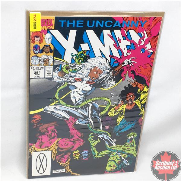 MARVEL: The Uncanny X-Men - Vol. 1, No. 291, August 1992 -  Underbelly