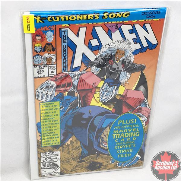 MARVEL: The Uncanny X-Men - Vol. 1, No. 295, December 1992 -  X-Cutioner's Song - Part 5 (Sealed w/