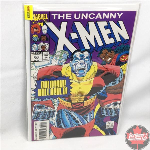 MARVEL: The Uncanny X-Men - Vol. 1, No. 302, July 1993 -  Stan Lee Presents: Province
