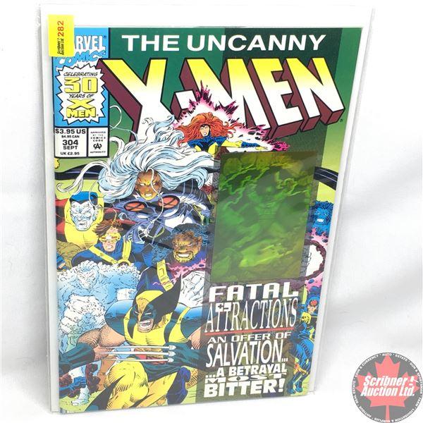 MARVEL: The Uncanny X-Men - Vol. 1, No. 304, September 1993 -  Fatal Attractions (3D Holographic Car