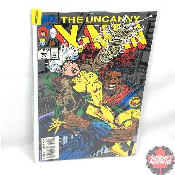 MARVEL: The Uncanny X-Men - Vol. 1, No. 305, October 1993 -  Stan Lee Presents: The Measure Of The M