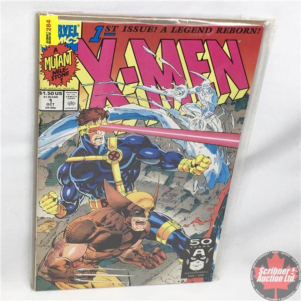 MARVEL COMICS: X-Men - Vol. 1, No. 1, October 1991 - Rubicon : Cover C