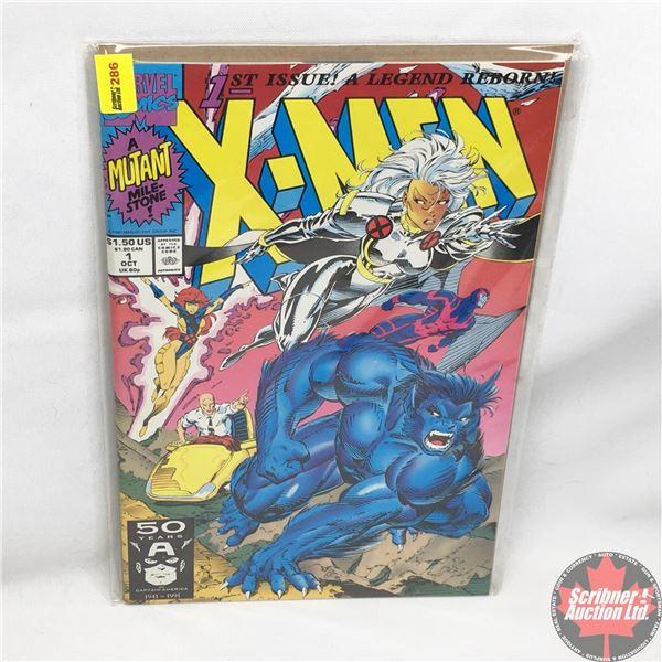 MARVEL COMICS: X-Men - Vol. 1, No. 1, October 1991 - Rubicon : Cover A