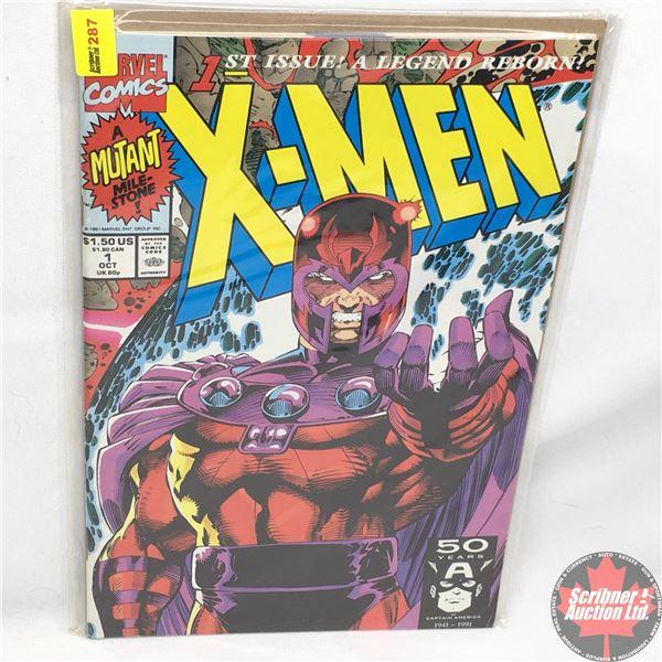 MARVEL COMICS: X-Men - Vol. 1, No. 1, October 1991 - Rubicon : Cover D