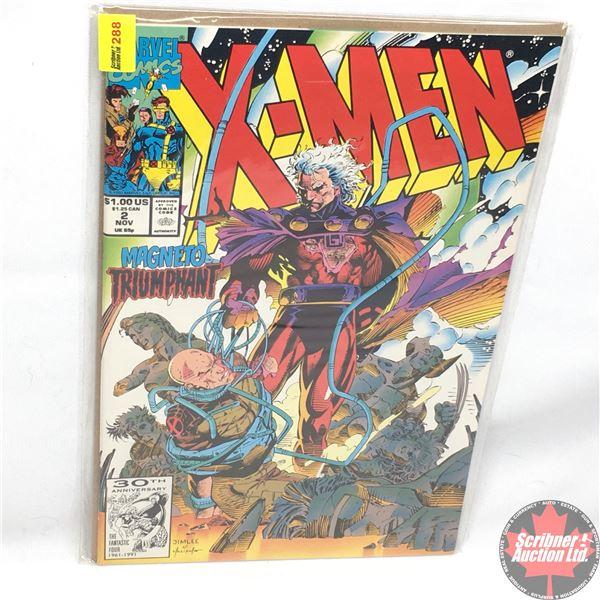 MARVEL COMICS: X-Men - Vol. 1, No. 2, November 1991 - Stan Lee Presents: Firestorm