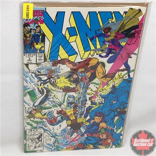MARVEL COMICS: X-Men - Vol. 1, No. 3, December 1991 - Stan Lee Presents: Fall Out
