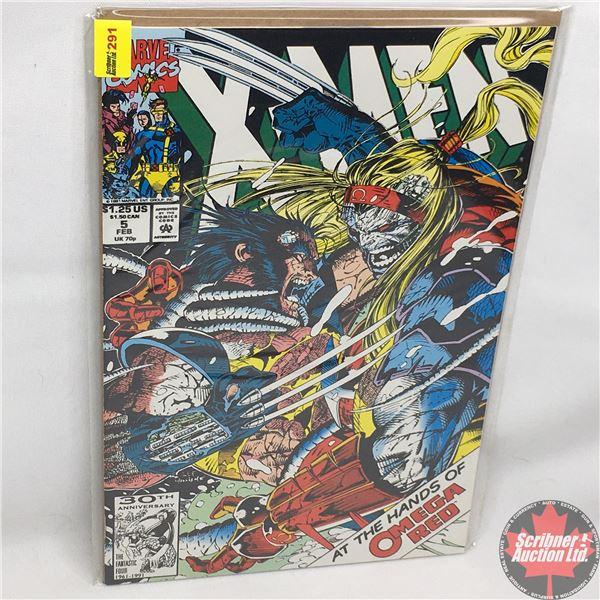 MARVEL COMICS: X-Men - Vol. 1, No. 5, February 1992 - Blow Back