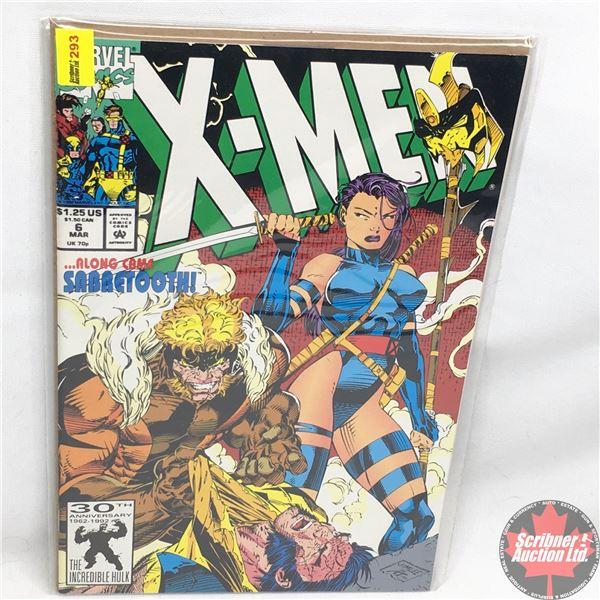 MARVEL COMICS: X-Men - Vol. 1, No. 6, March 1992 - Farther Still