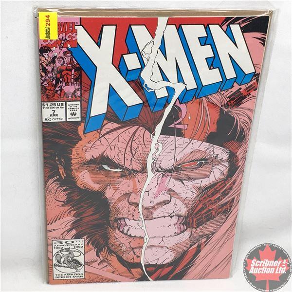MARVEL COMICS: X-Men - Vol. 1, No. 7, April 1992 - Stan Lee Presents: The Finale of the Omega Red Sa