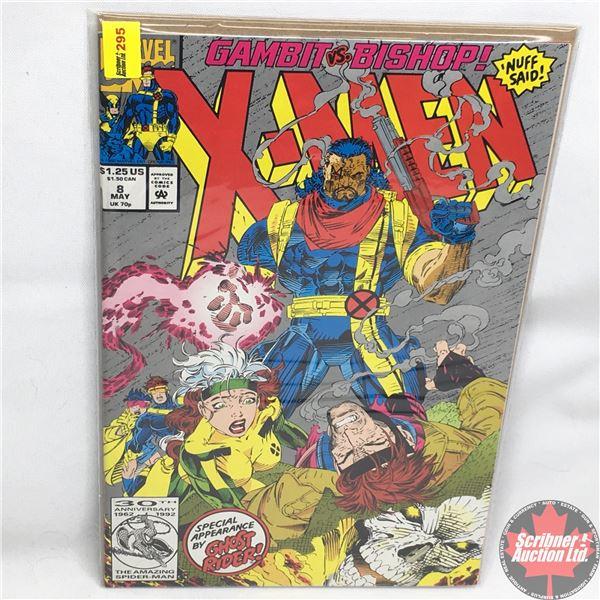 "MARVEL COMICS: X-Men - Vol. 1, No. 8, May 1992 - Stan Lee Presents: ""Tooth & Claw""  Gambit vs. Bisho"