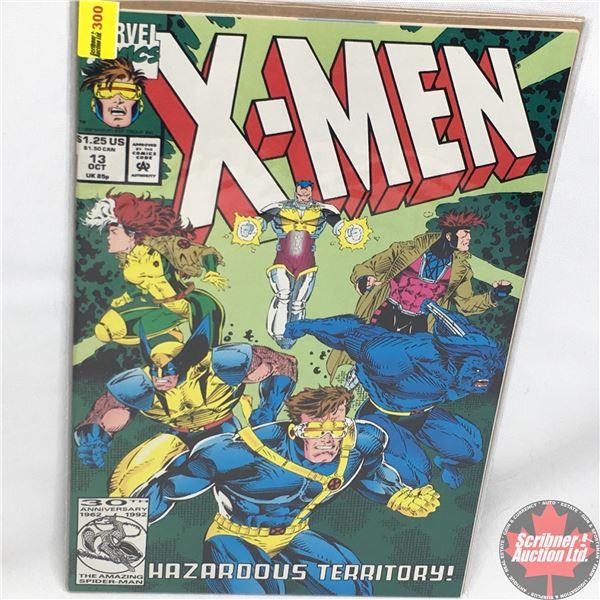 MARVEL COMICS: X-Men - Vol. 1, No. 13, October 1992 - Stan Lee Presents: Hazardous Territory