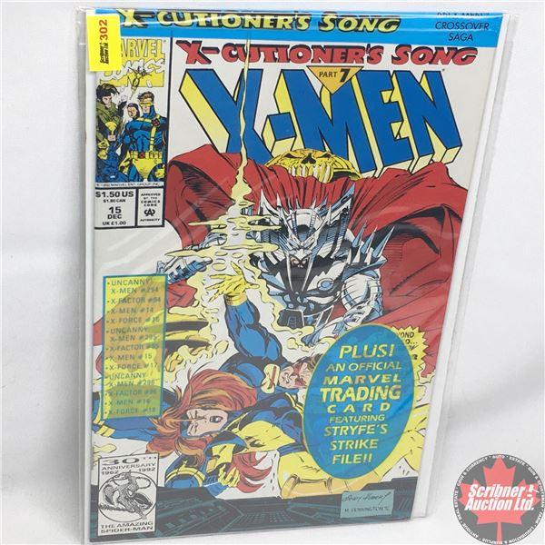MARVEL:  X-Men - Vol. 1, No. 15, December 1992 -  X-Cutioner's Song - Part 5 (Sealed w/ trading card