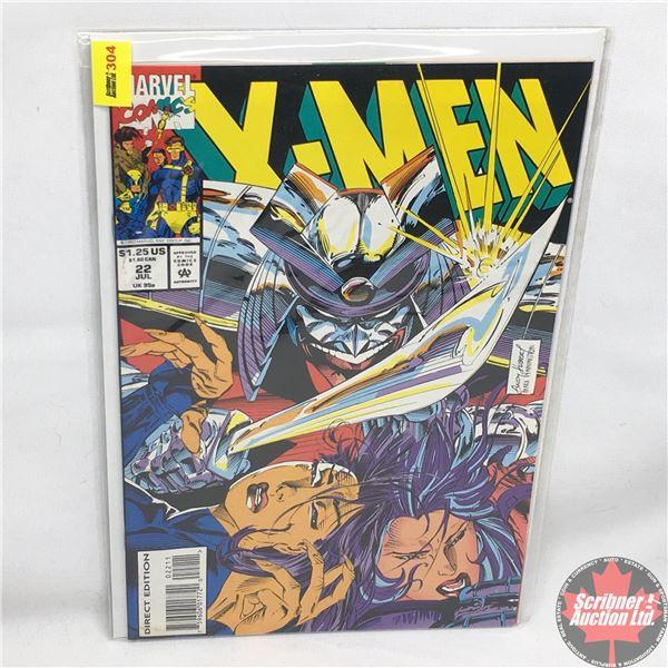 MARVEL COMICS: X-Men - Vol. 1, No. 22, July 1993 - Stan Lee Presents: The Mask Behind The Façade