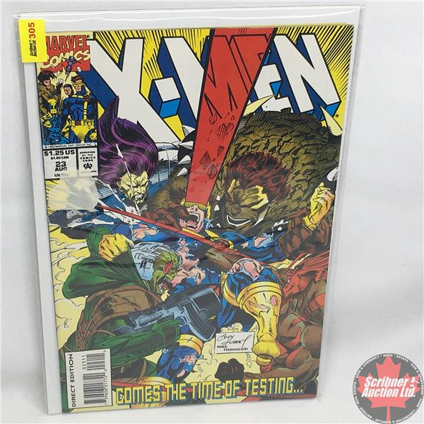 MARVEL COMICS: X-Men - Vol. 1, No. 23, August 1993 -  Leaning Towards Oneself
