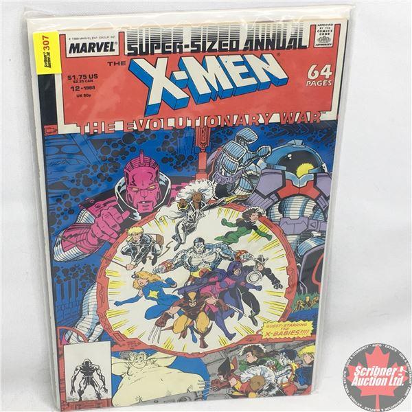 MARVEL: Super-Sized Annual - X-Men - The Evolutionary War - Vol. 1, No. 12, 1988 - Stan Lee Presents