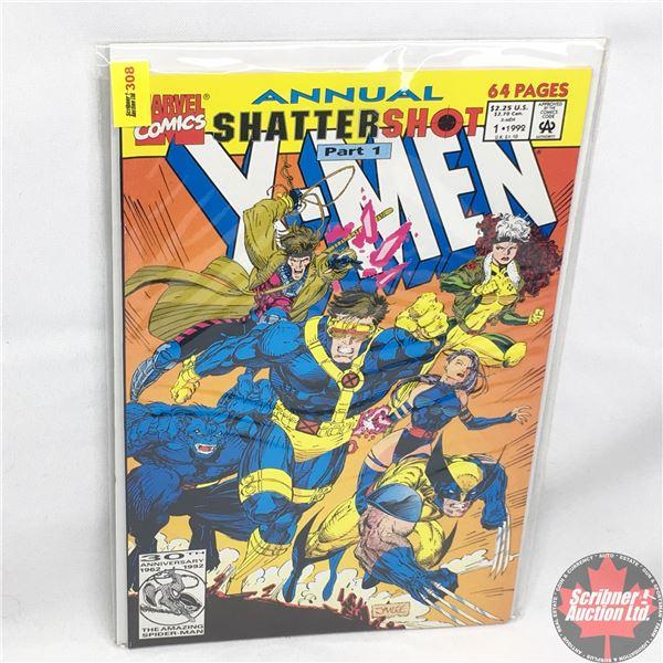 MARVEL COMICS: The X-Men Annual - Vol. 1, No. 1, 1992 - Shattershot Part 1