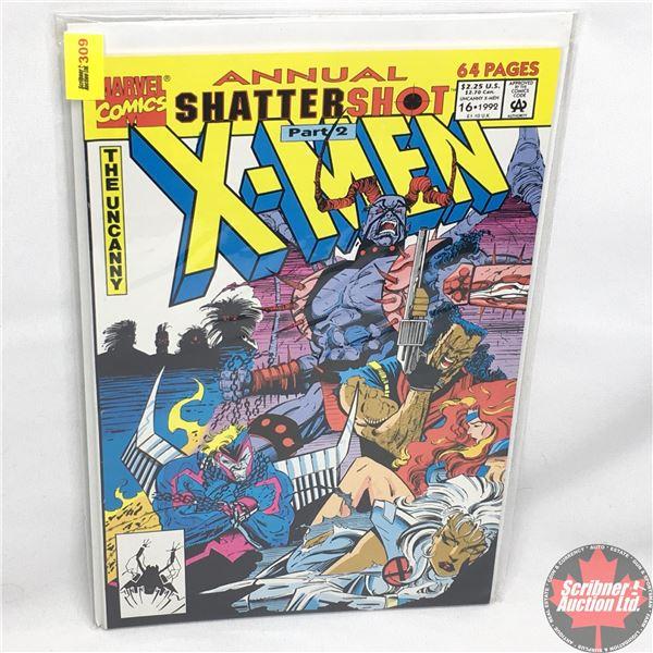 MARVEL COMICS: The Uncanny X-Men Annual - Vol. 1, No. 16, 1992 - Shattershot Part 2