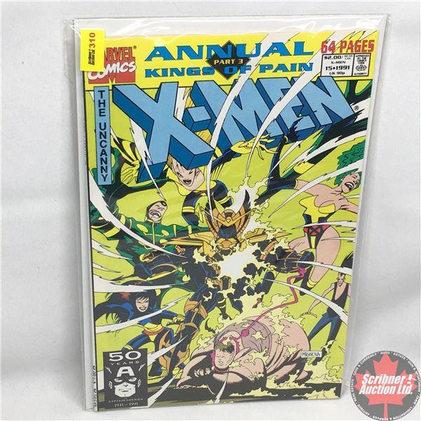 MARVEL COMICS: The X-Men Annual - Vol. 1, No. 15, 1991 - Kings of Pain Part 3