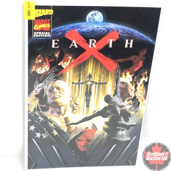 MARVEL COMICS:  WIZARD - Special Edition -  Earth X (a special supplement to Wizard: The Comics Maga