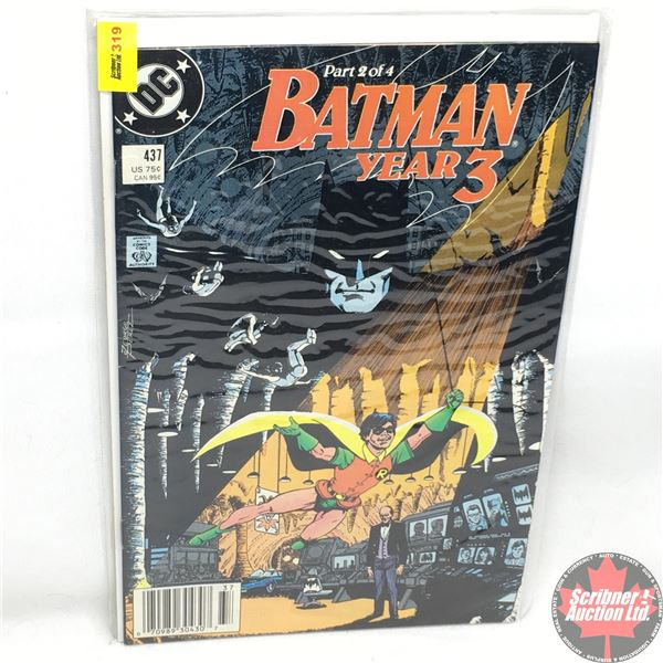 DC: Batman  Year 3 - 1989 - Changes Made - Part 2 of 4