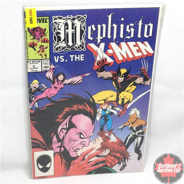 MARVEL:  Mephisto vs. The X-Men - Vol. 1, No. 3, June 1987 - The Devil You Say!