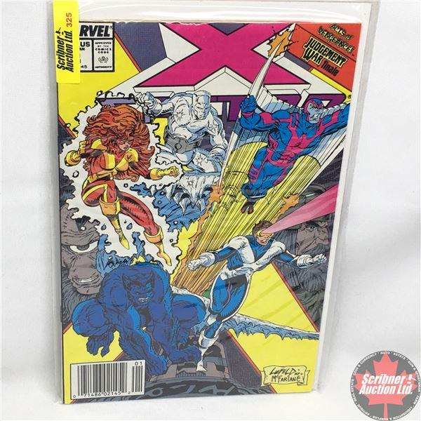 MARVEL: X-Factor - Vol. 1, No. 50, January 1990 - Stan Lee Presents:  Judgement Day