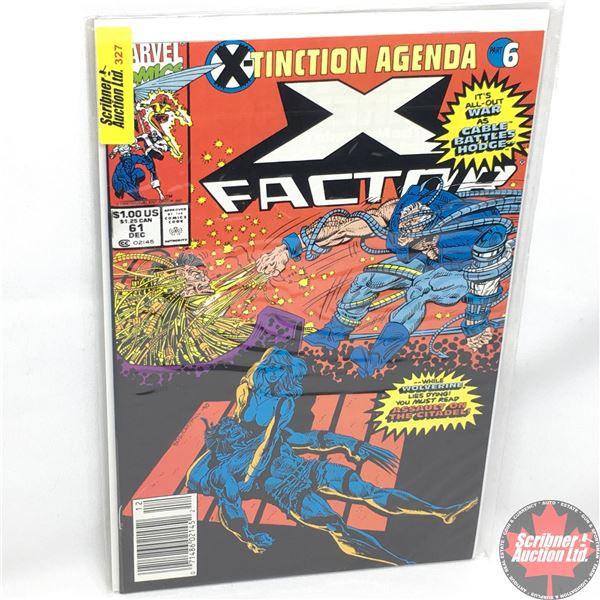 MARVEL COMICS: X-Factor - Vol. 1, No. 61, December 1990 - Stan Lee Presents: Betrayal!