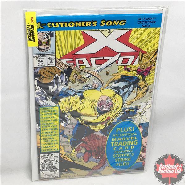 MARVEL:  X-Factor - Vol. 1, No. 84, November 1992 -  X-Cutioner's Song - Part 2 (Sealed w/ trading c