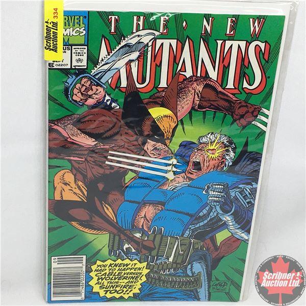 MARVEL COMICS:  The New Mutants - Vol. 1, No. 93, September 1990 - Stan Lee Presents:  Madripoor