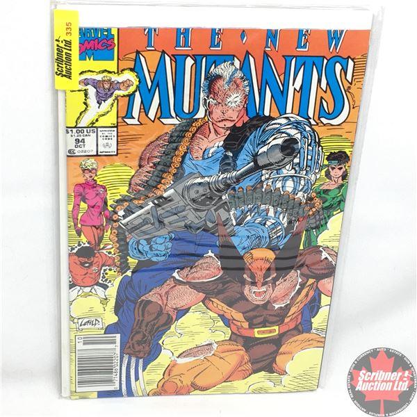MARVEL COMICS:  The New Mutants - Vol. 1, No. 94, October 1990 - Stan Lee Presents:  Lethal Weapons