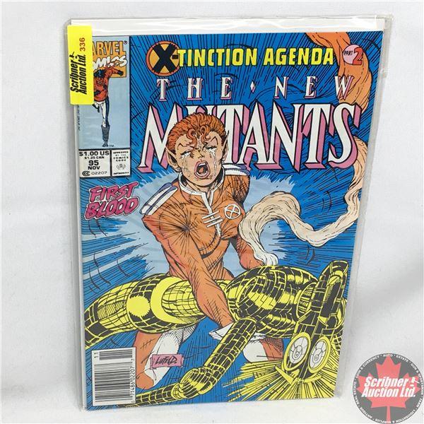 MARVEL COMICS:  The New Mutants - Vol. 1, No. 95, November 1990 - Stan Lee Presents:  Shell Game