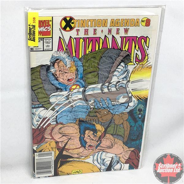 MARVEL COMICS:  The New Mutants - Vol. 1, No. 97, January 1991 - Stan Lee Presents:  War