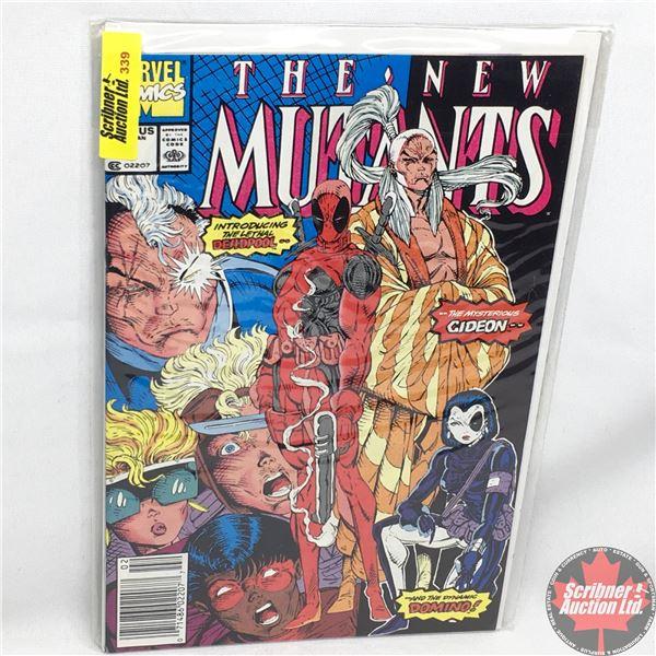 MARVEL COMICS:  The New Mutants - Vol. 1, No. 98, February 1991 - Stan Lee Presents:  The Beginning