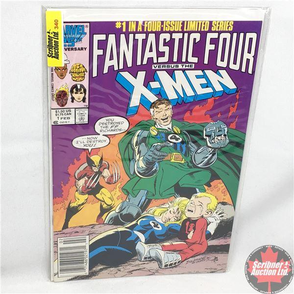 MARVEL 25th Anniversary: Fantastic Four versus X-Men - Vol. 1, No. 1, February 1987 - Stan Lee Prese