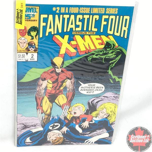 MARVEL 25th Anniversary: Fantastic Four versus X-Men - Vol. 1, No. 2, March 1987 - Stan Lee Presents