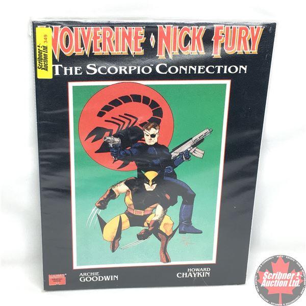 MARVEL GRAPHIC NOVEL: Wolverine / Nick Fury - The Scorpio Connection - 1990