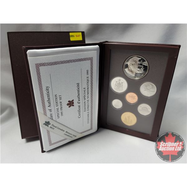 RCM Special Edition 1995 Double Dollar Proof Set