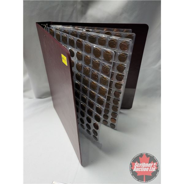 Canada One Cent Collection - Binder Lot 1960's - 2000's VARIETY (Over 600 Pennies!) (See Pics!)