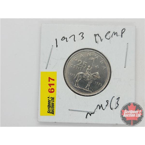 Canada Twenty Five Cent 1973